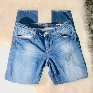 Mavi Adriana Ankle Mid-Rise Super Skinny Jeans